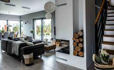 Nordic gray modern home interior design 25