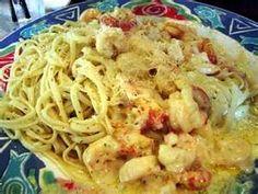 Taste Just Like - Copycat Red Lobster Lobster, Shrimp and Scallop Pasta on MyRecipeMagic.com