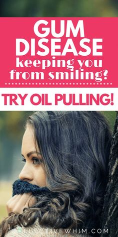 A natural way to help improve your gum disease, whitens teeth, freshens breath and heals gums. Periodontal Disease, natural teeth whitening, coconut oil, oil pulling, coconut oil pulling, mouth pain, gum infection, pregnancy gum disease, pregnancy gingivitis, natural remedies, dry mouth.