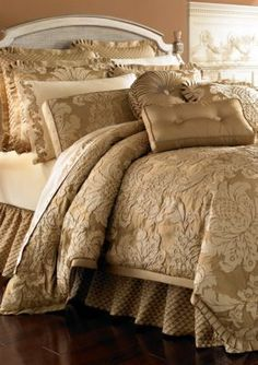 J Queen New York Contessa Gold Comforter Sets - Bedding Collections - Bed & Bath - Macy's