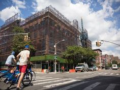 Once-gritty Avenue A is undergoing a major transformation