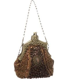 Brown Bronze Beaded ''Victorian'' Vintage Style Evening Clutch Laurel and Sunset http://www.amazon.com/dp/B005TCDXE4/ref=cm_sw_r_pi_dp_7yp8tb1SJ38PY
