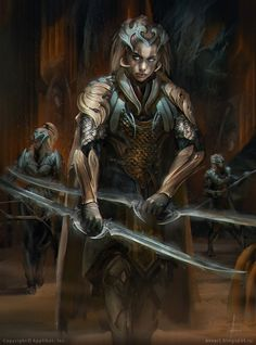Silver Centurion leona by VinogradovAlex on deviantART