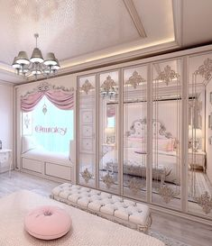 30 Schönes Zimmer, die der Inbegriff von Sophisticated Art sind 30 Beautiful rooms that are the epitome of Sophisticated Art Luxury Bedroom Design, Girl Bedroom Designs, Girls Bedroom, Bedroom Closets, Master Bedrooms, Dream Rooms, Dream Bedroom, Room Decor Bedroom, Bed Room