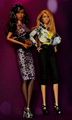 Twin Adele | High Brow Adele and a new comer, Gold Glam Adele. | Flickr - Photo Sharing!