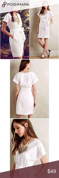 Anthropologie Ribboned Poplin Dress NWT $148 🦄 Size 0. HD in Paris from Anthropologie. Originally $148. NEW WITH TAGS. From the NEW 2015 Anthropologie line. Just came out. 🦄 Anthropologie Dresses