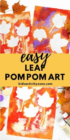 Easy Toddler Crafts, Quick And Easy Crafts, Kids Fall Crafts, Rainy Day Crafts, Toddler Fun, Thanksgiving Crafts, Fun Crafts, Fall Activities For Toddlers, Preschool Art Activities