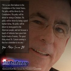 John Philip Sousa IV has a mission: Convince a retired neurosurgeon with no political experience to run for President -- and then help him win. Will you help us? www.runbenrun.org/sign  http://www.cnn.com/2014/12/20/politics/ben-carson-super-pac-sousa/