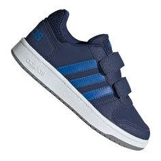 Navy Blue Adidas Hoops Cmf C Jr shoes are the perfect children's shoes, both for boys and girls. These are shoes adapted to the everyday activities of children. Adidas Shoes Outlet, Adidas Sneakers, Shoe Manufacturers, Navy Blue Color, Childrens Shoes, Kids Sports, Blue Adidas, Sports Shoes, Kid Shoes