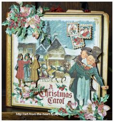 graphic 45 christmas carol - Google Search