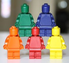 Recycled Crayon Tutorial – Make Lego Men, Princesses, and More!