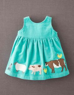 I've spotted this @BodenClothing Appliqué Apron Pinnie Mint/Farmyard