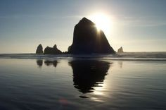 Rent a car and drive on Hwy 5, along the Oregon Coast. Visit Cannon Beach.