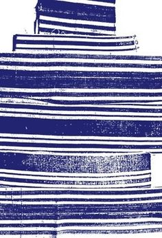 This dynamic blue graphic print is beautiful. Surface Pattern, Pattern Art, Surface Design, Pattern Design, Stripe Pattern, Stripe Print, Textile Patterns, Textile Design, Color Patterns