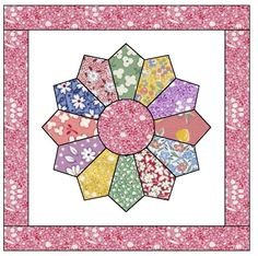 Free Dresden Plate Quilt Pattern | Apple Avenue Quilts: Free Patterns