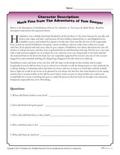 compare and contrasts huck finn and tom sawyer and analysi Compare and contrast huckleberry finn huck and tom sawyer a risultati immagini per tom sawyer activities character description worksheet - huck finn - this character description worksheet asks students to read a description of huckleberry finn in the adventures of tom sawyer by mark twain.