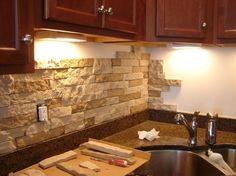 DIY Faux Stone Tutorial - Easy/Budget Friendly   -- Don't miss out! Follow DIY Fun Ideas on facebook: www.facebook.com/diyfunideas