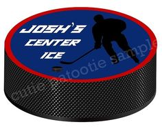 Jerusalem Israel Bar Mitzvah Logo with City Skyline and Wall. Great for Israel Bar or Bat Mitzvah. Designs by Cutie Patootie Creations Pro Hockey, Hockey Puck, Bat Mitzvah, New York Teams, Custom Design, Logo Design, Table Cards, Kid Names, Event Decor