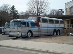 Greyhound Scenicruiser Bus