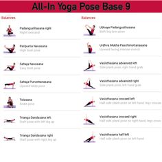 All-in Yoga pose base page 9