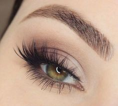 soft natural eye makeup ~ ❤ this!