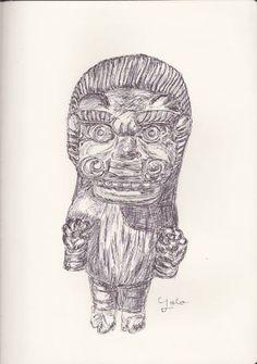 "Saatchi Art Artist Ballpointpen Illustrator; Drawing, ""BALLPEN TRAVEL IN NEPAL 9"" #art"
