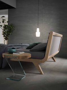 Bed Without Storage, Floating Bed Frame, Bed Design, House Design, Headboard Designs, Minimalist Furniture, Interior Design Kitchen, Plywood, Wood Projects