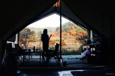 Autumn Glamping in South Korea