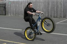 Dave on a Fat Bike! #fatbike #bicycle