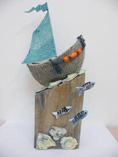 sailing on a sea of shells