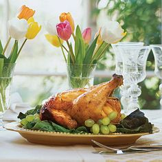 Traditional Easter Dinner Recipes: Ginger Ale-Can Chicken - Traditional Easter Dinner Recipes - Southern Living