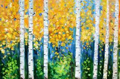 more birch trees