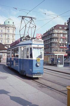 Suisse Tram 15 Zürich