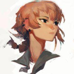 samuelyounart - Student, Digital Artist | DeviantArt Art And Illustration, Character Illustration, Pretty Art, Cute Art, Art Sketches, Art Drawings, L'art Du Portrait, Cartoon Kunst, Cartoon Art Styles