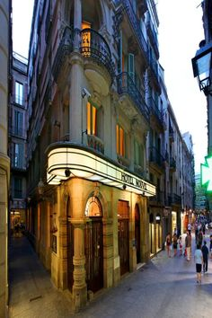 Hotel Nouvel, Barcelona, just of La Rambla. Perfect location and lovely accommodation for central Barcelona. I recommend! Stay The Night, Good Night Sleep, Santa Anna, Most Beautiful Pictures, Beautiful Places, Barcelona Hotels, Barcelona Spain, Double Glazed Window, Great Hotel