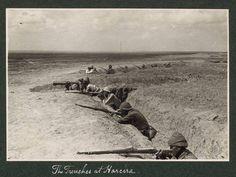 Gazze'de İngilizlere karşı savaşan Osmanlı askerleri...