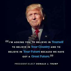 President Donald J. Trump .