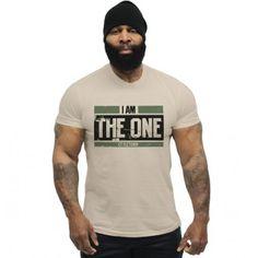 CT Fletcher - I Am The One Military Tee