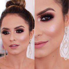 Maquiagem de festa 2018, maquiagem madrinha de casamento, maquiagem formatura