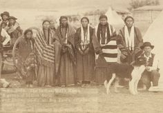 The Indian Girl's Home. A group of Indian girls and Indian police at Big Foot's village on reservation. Black History Books, Black History Facts, Native American Tribes, Native American History, Haiti History, Black Indians, Black Art Pictures, African Americans, Native Americans