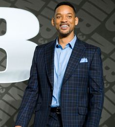 Will Smith Makes a Plaid Suit Look Modern - I love this Suit, he looks great!