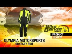 Bandit Tested feat. Olympia Moto Sports Odyssey Motorcycle Suit w/ RobFish - YouTube