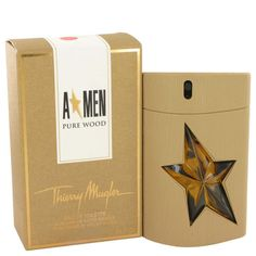 Angel Pure Wood Thierry Mugler 3.4 oz Eau De Toilette Spray Sublimated MEN NIB #ThierryMugler