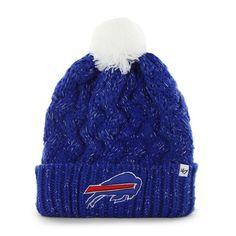 8f0c03cf212 Buffalo Bills Fiona Cuff Knit Sonic Blue 47 Brand Womens Hat