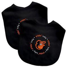 2 Pack Baby Fanatic Bib Baltimore Orioles  #mlb #baseball #baby #baltimore #orioles #baltimoreorioles #zappysales