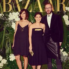 Glittering moments @Lisa Harper's Bazaar