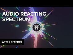 After Effects: Audio Spectrum Waveform Tutorial After Effect Tutorial, Audio In, Project Board, Online Tutorials, Market Research, After Effects, Site Design, Motion Graphics, Filmmaking