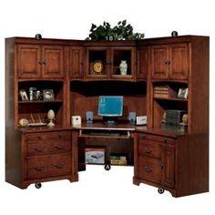 Traditional Corner Computer Desks And Desks On Pinterest