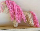 Earth Pony, Waldorf Toy,  Rainbow Unicorn