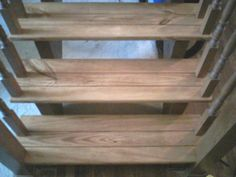 Pine and Oak staircase